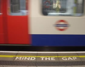 Mind the Gap Londen
