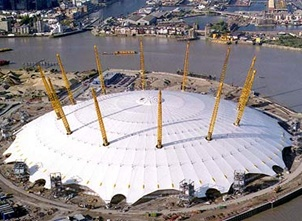 O2 Arena in Londen