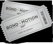 Bond in Motion tentoonstelling Londen