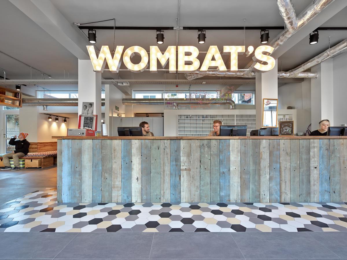 Wombats City Hostel Receptie